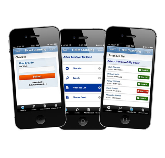 Online Ticketing, Go Mobile with our apps - InstantSeats com